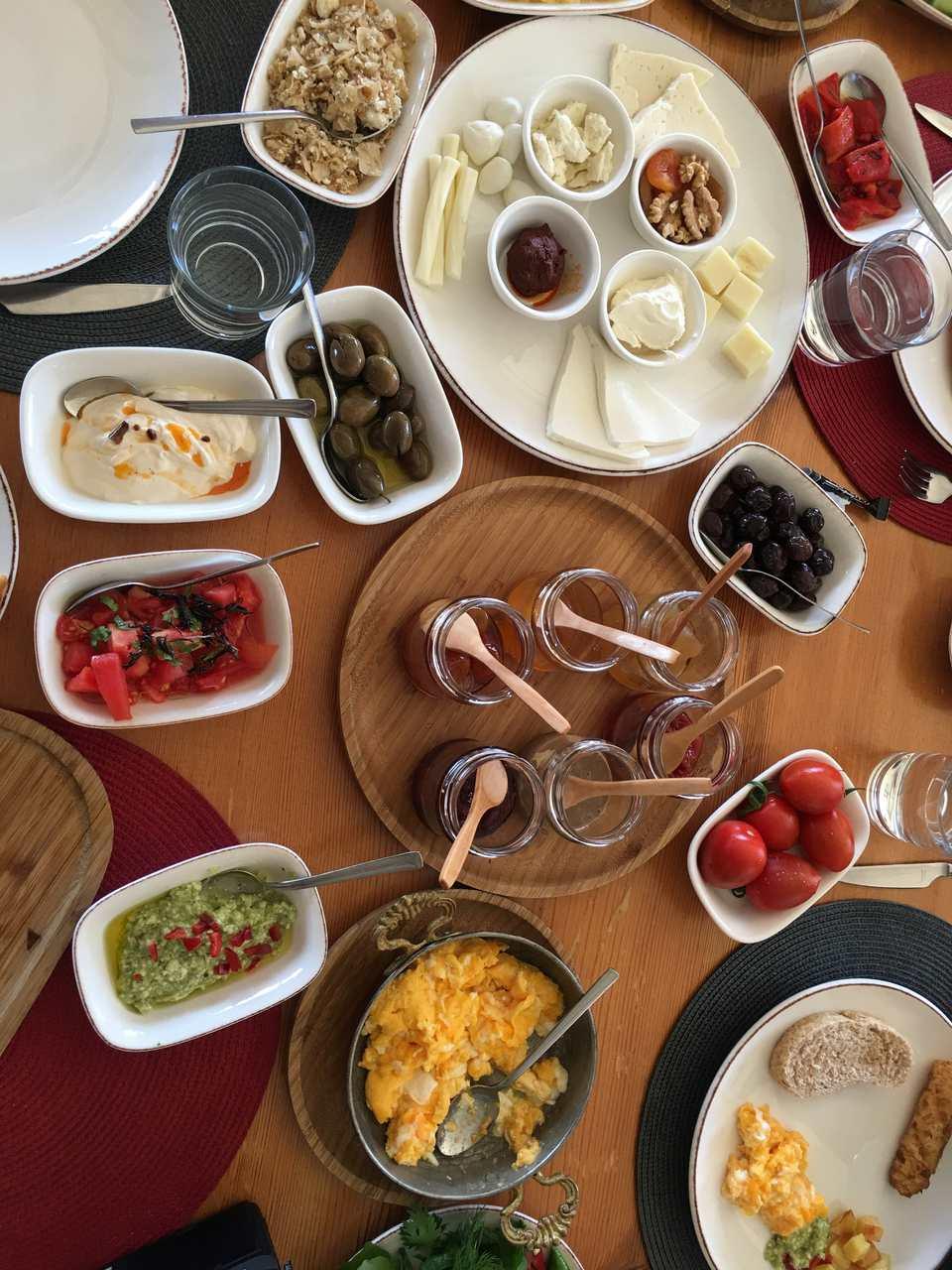 In Turkey Breakfast Is Called Kahvalti