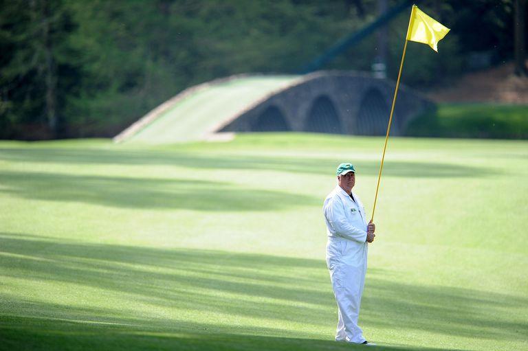 Forecaddie at Augusta National Golf Club