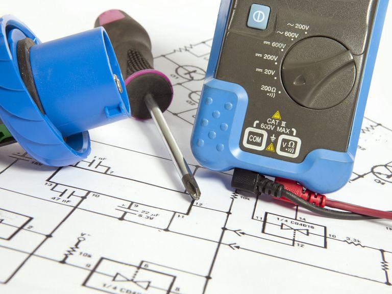 an electrical wiring diagram