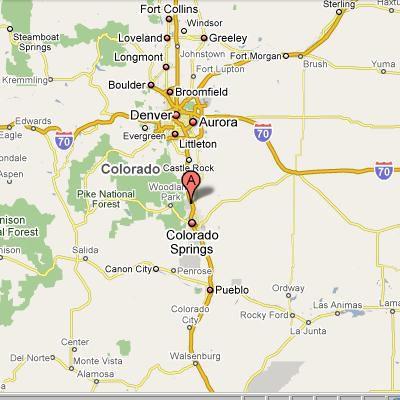 Installation Overview US Air Force AcademyColorado - Map of us air force installations