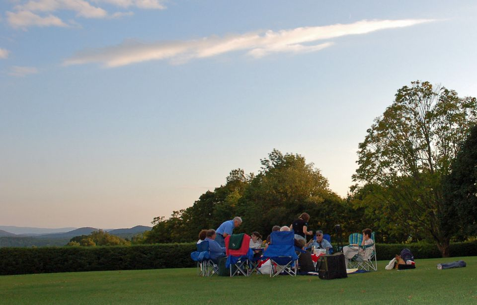 Tanglewood Picnic on the Lawn