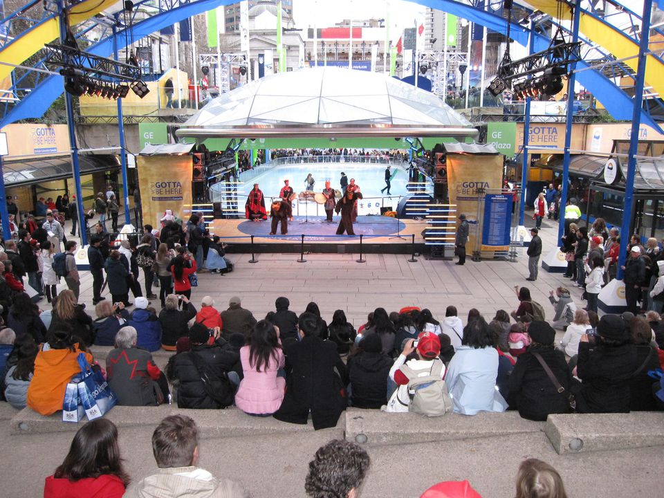 Robson Square at the 2010 Winter Olympics