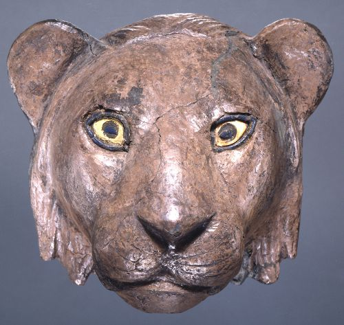 Head of a Lion from the Royal Cemetery of Ur