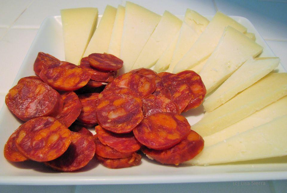 Spanish Chorizo with Cheese