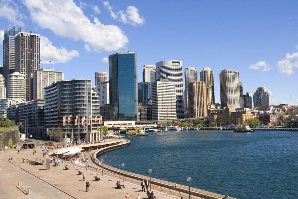 Circular Quay viewed from Sydney Opera House