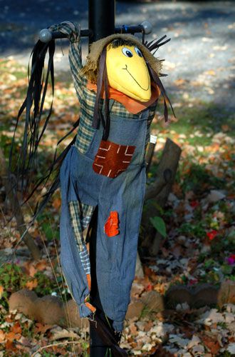 a contradictory but cute halloween scarecrow - Halloween Scare Crow