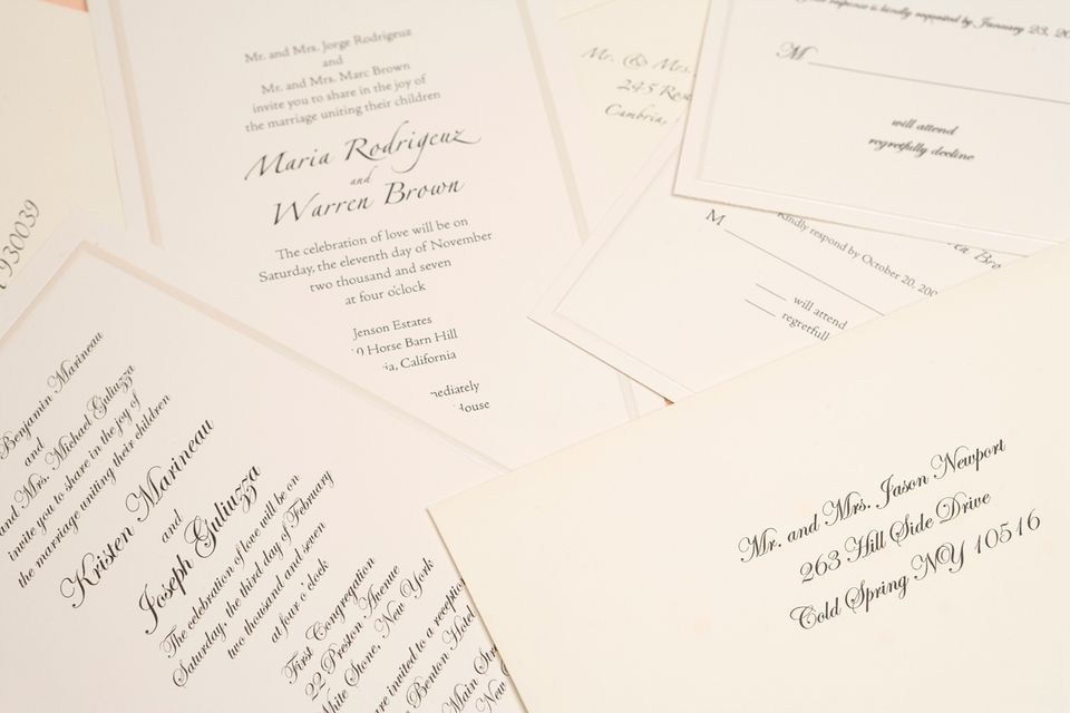 how to address the wedding reception with the invitation - Wedding Reception Invites