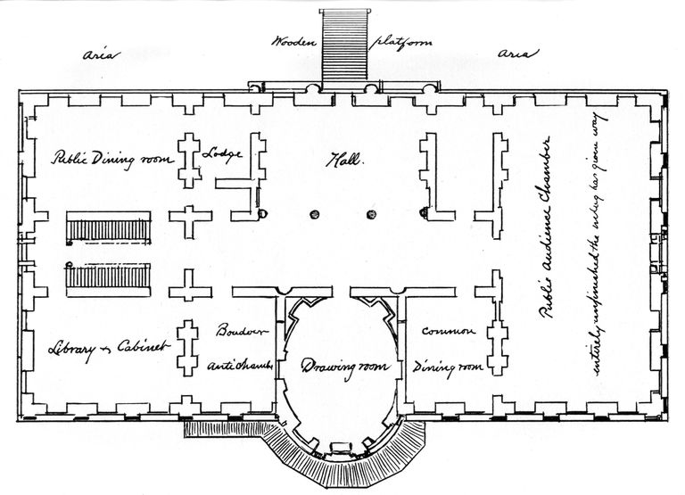 About the white house in washington dc for Washington house plans
