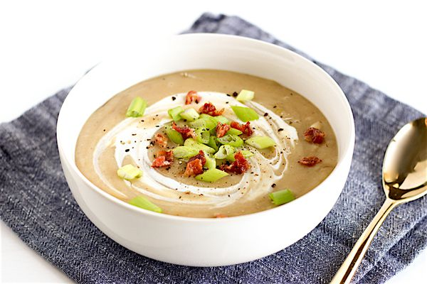 potato leed soup