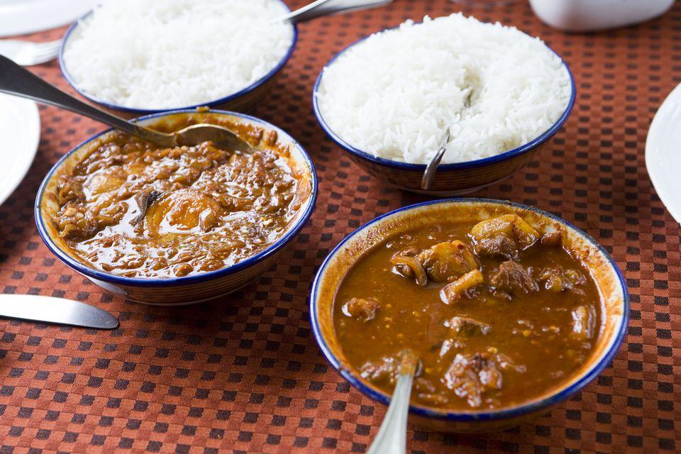 Pork Vindalho at Martin's Corner restaurant, Goa.