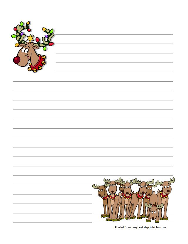 christmas stationary