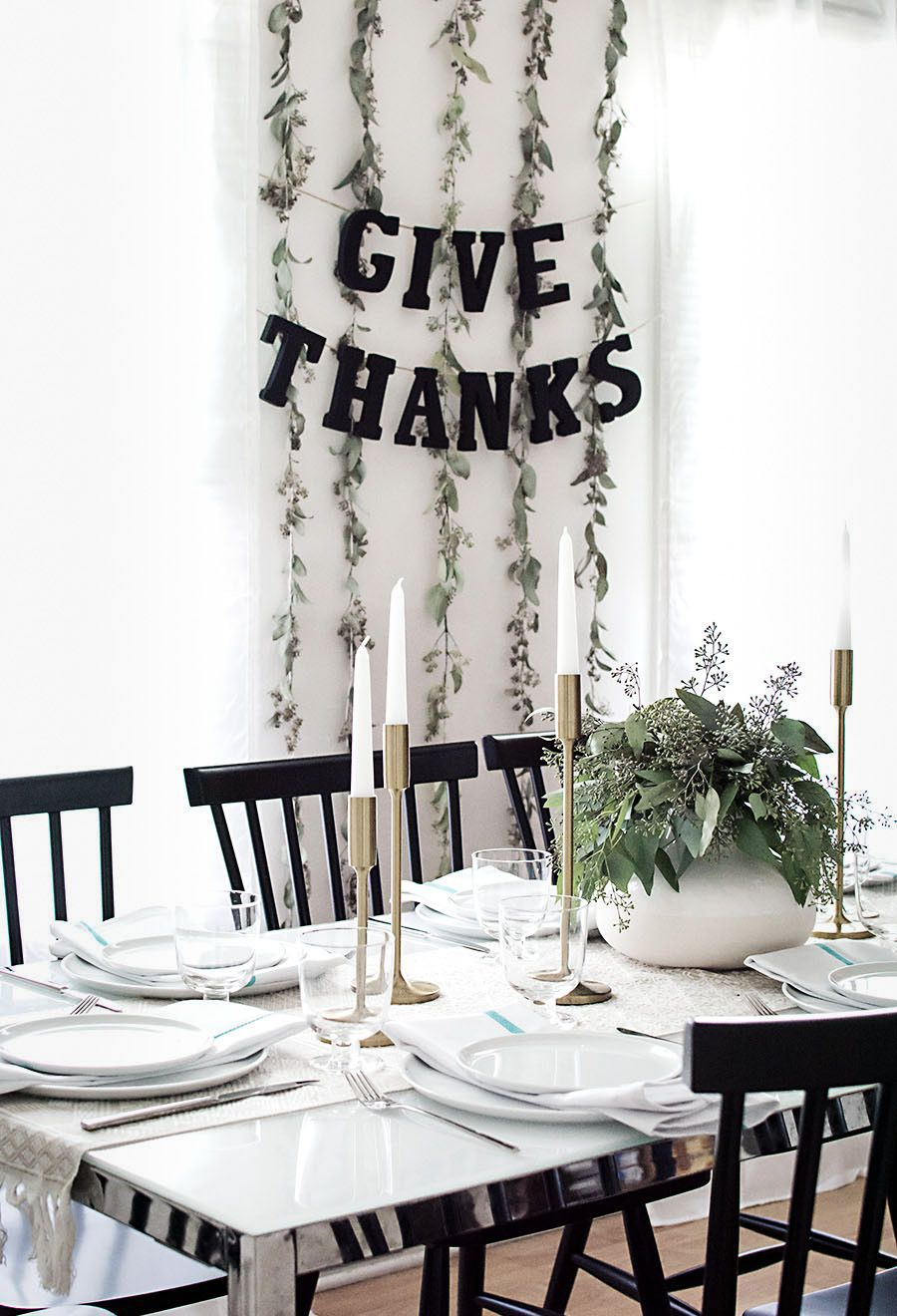 DIY Give Thanks Garland
