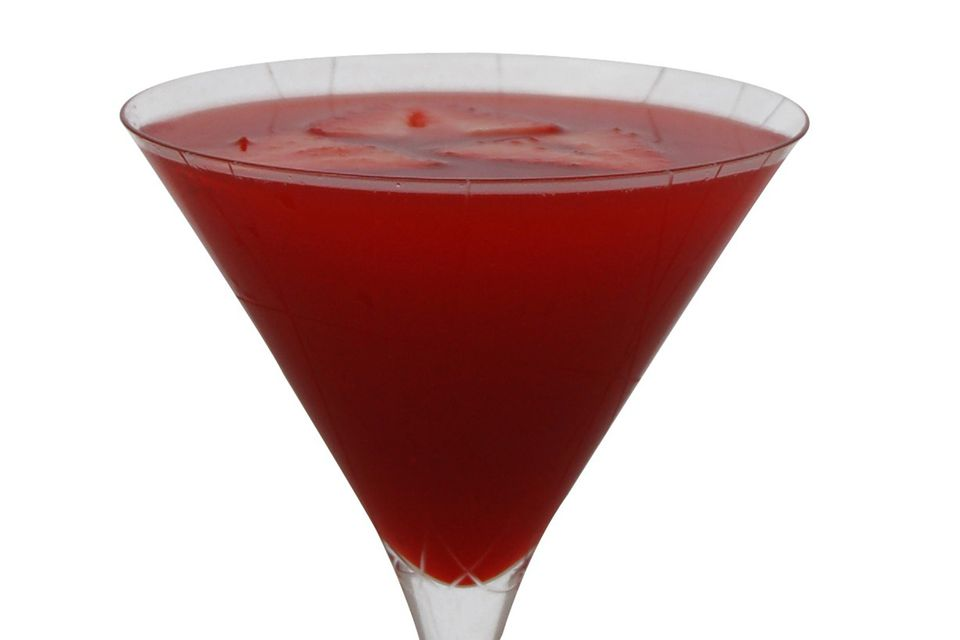 The Rhube Martini - Tequila Cocktail Recipe