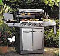 Thermos Stainless Steel Gas Grill