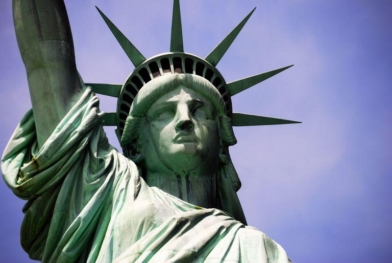 La Estatua de la Libertad. Símbolo para todos los que han huido de sus países perseguidos.
