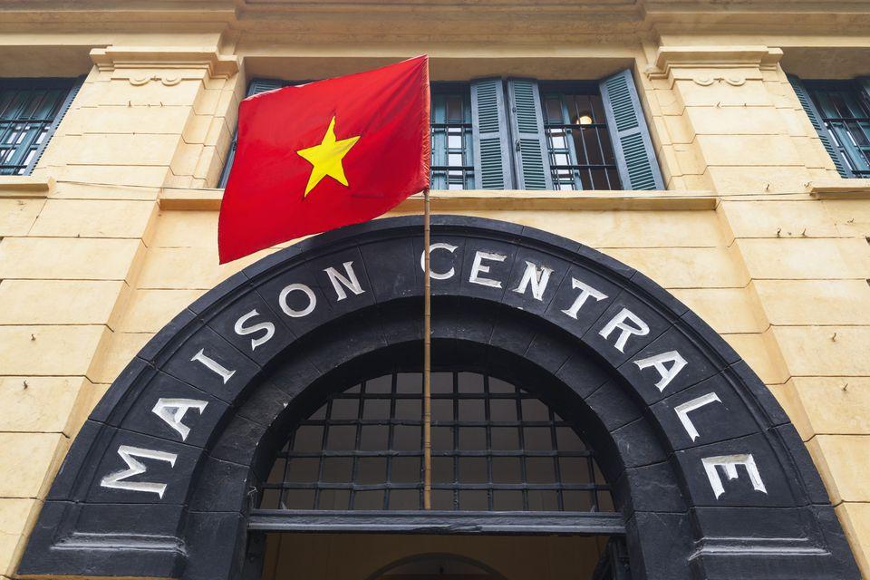 Vietnam, Hanoi, Hoa Lo Prison Museum, exterior