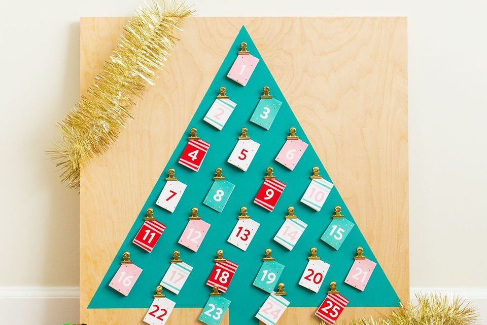 20 diy advent calendars for adults for Advent crafts for adults