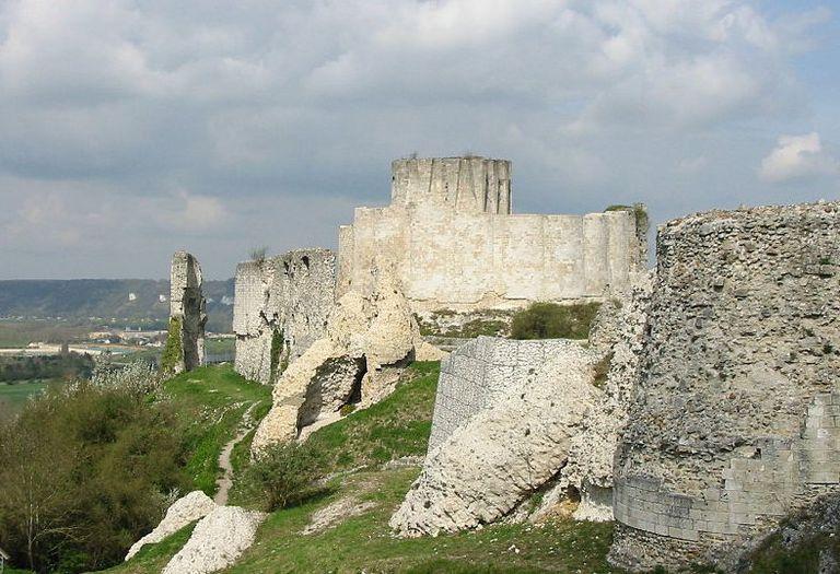 Chateau Gaillard in Normandy, France