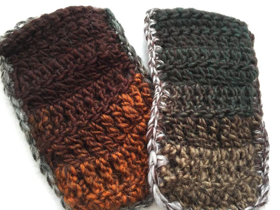 Stitch Sampler Crochet Cell Phone Cozy Free Pattern