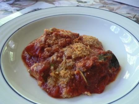 Roasted Zucchini and Tomato Sauce