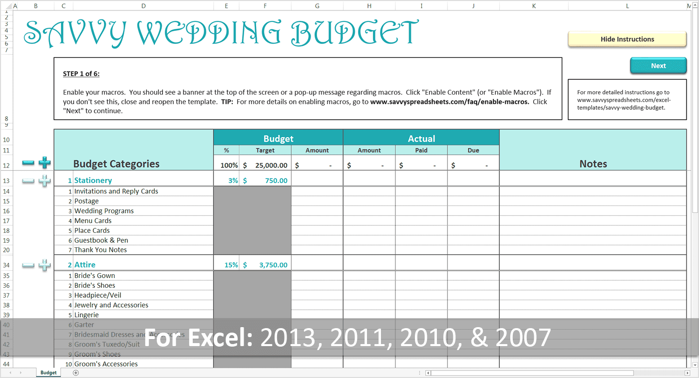 What a dad needs to know about wedding budgets strategies for creating a realistic wedding budget sciox Images