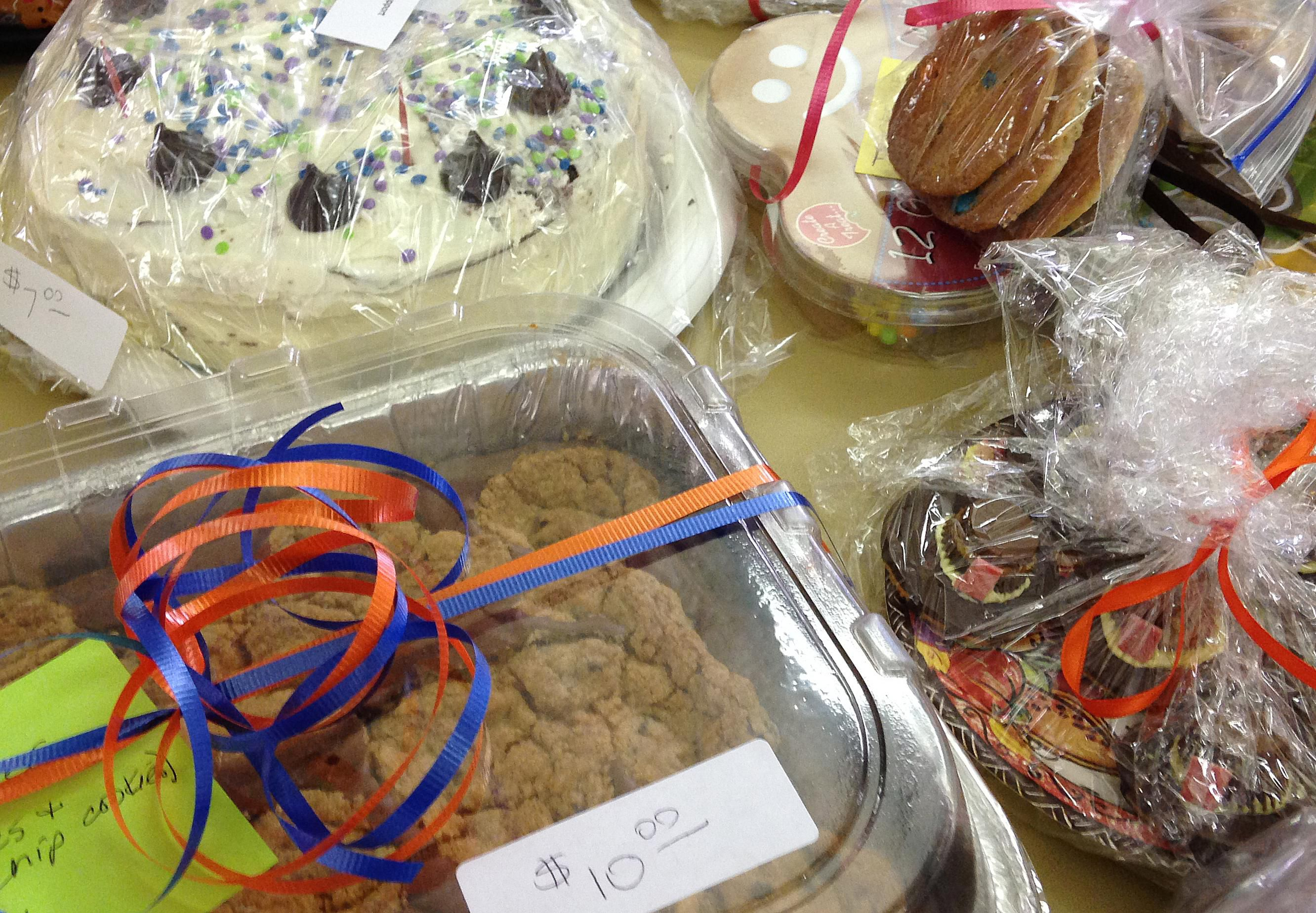 how to organise a cake sale