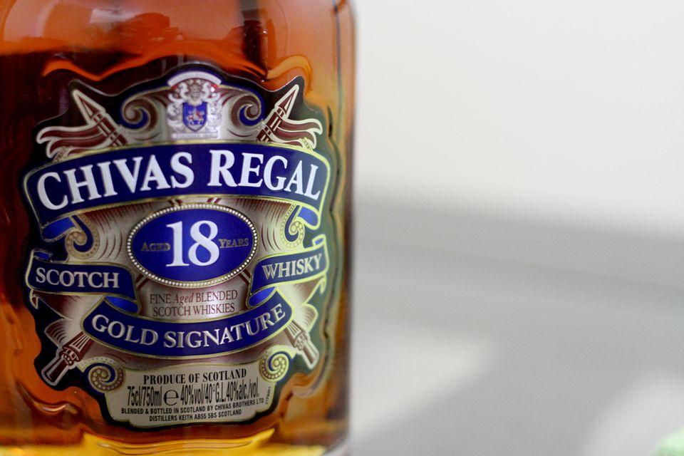 Chivas 18YO Label