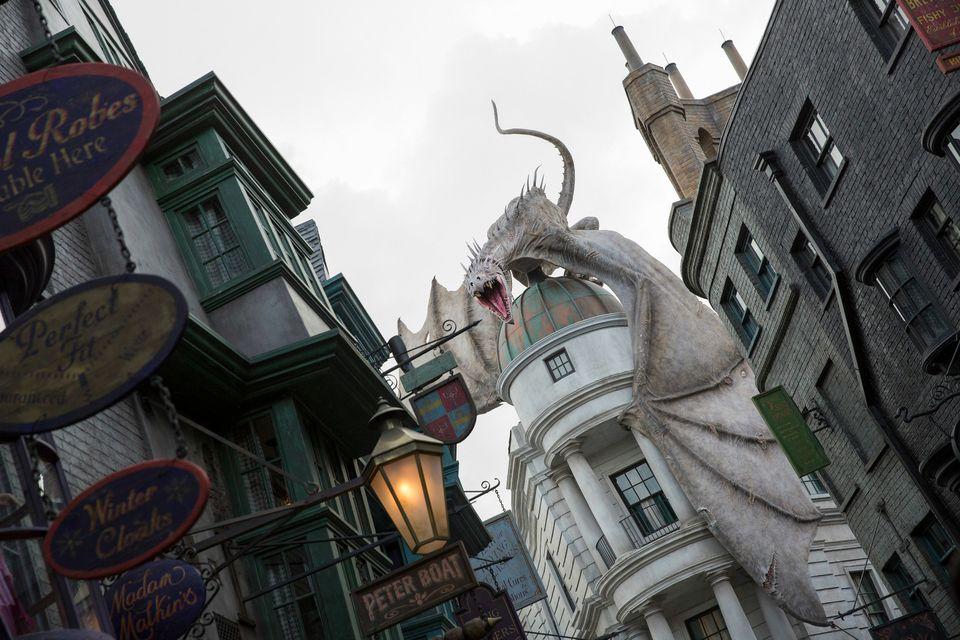 Diagon Alley, Orlando, Florida