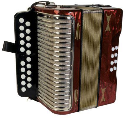 an accordion