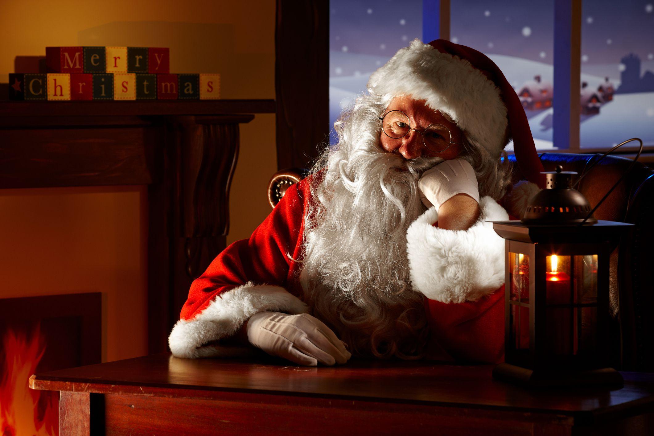 mrs claus dumps santa