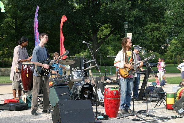 Carlos Jones and the PLUS Band at WOW! 2006