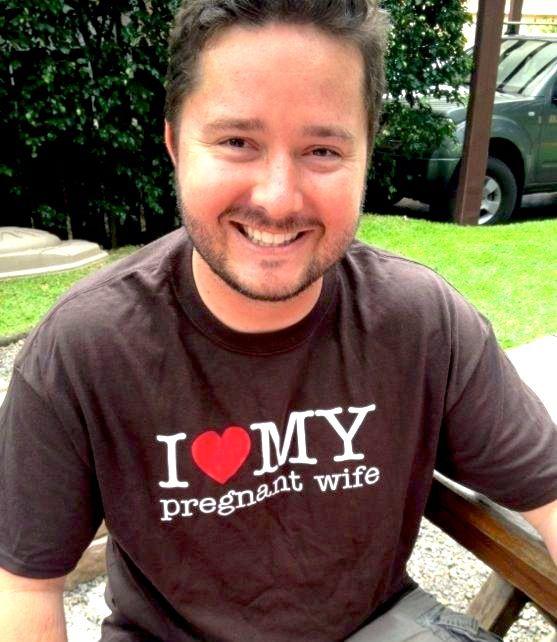 Camiseta de futuro papá