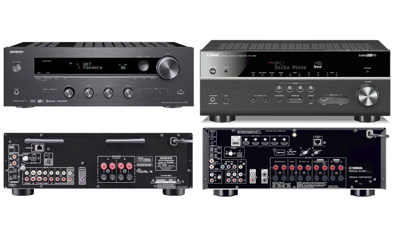 onkyo mini system. is there a real difference between stereo and home theater receivers? onkyo mini system