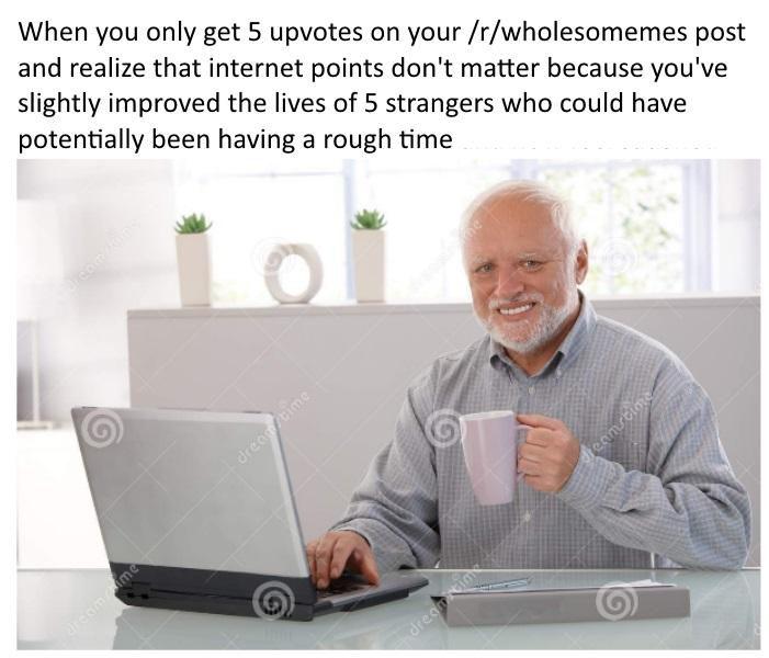 Wholesome meme coffee guy