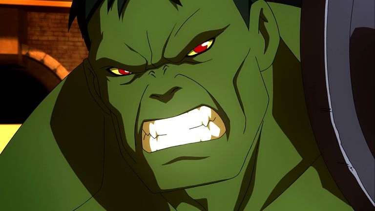 Planet Hulk - The Hulk