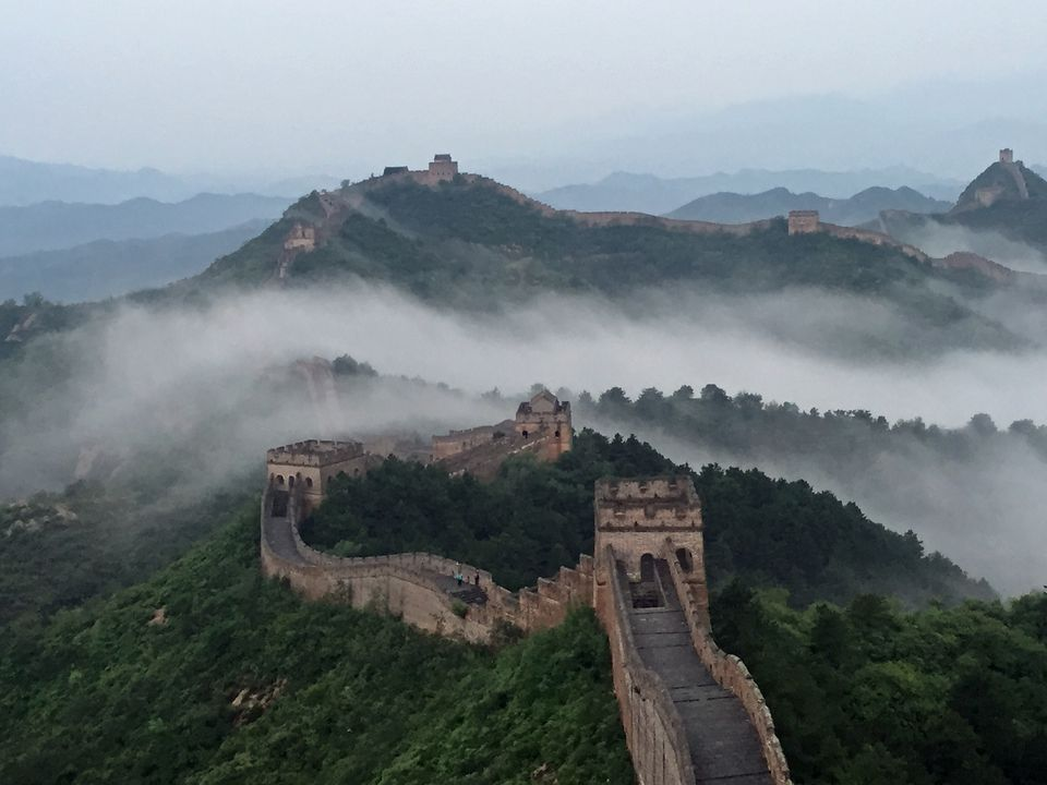 The Great Wall of China is among the most popular attractions for budget travelers in Asia.