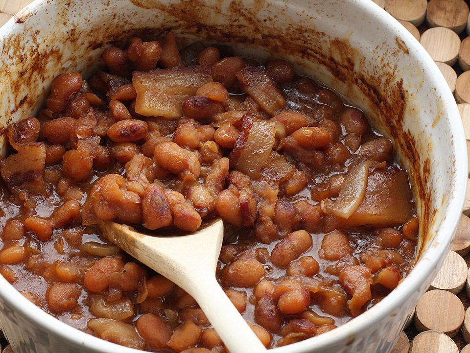 beans with bacon
