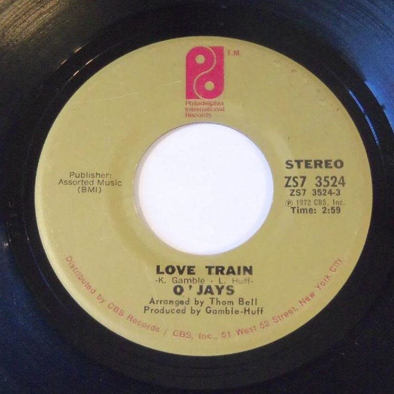 "The O'Jays' ""Love Train,"" perhaps the ultimate Philly Soul song"