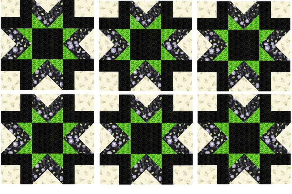 Star Quilt Block Pattern