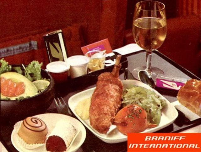 What's Cooking for #FlashbackFriday? Old School Airline Meals