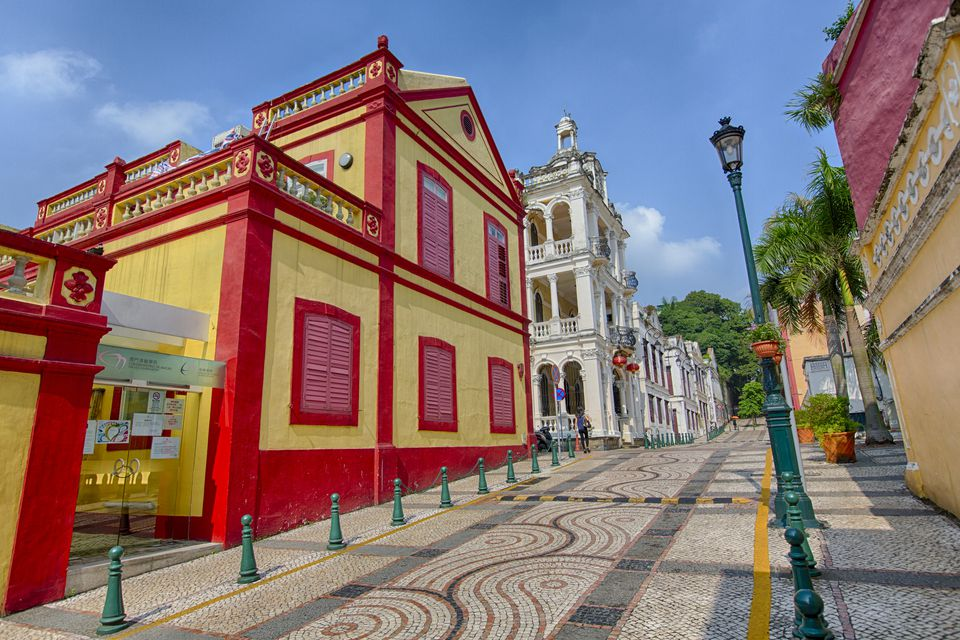 Cultural district by day, Macau