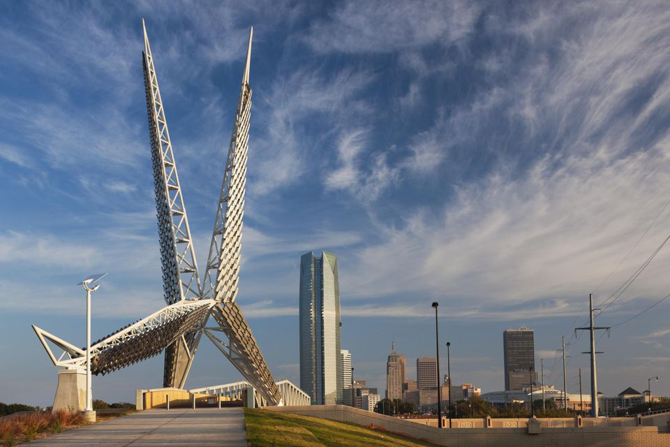 Skydance Bridge Oklahoma City