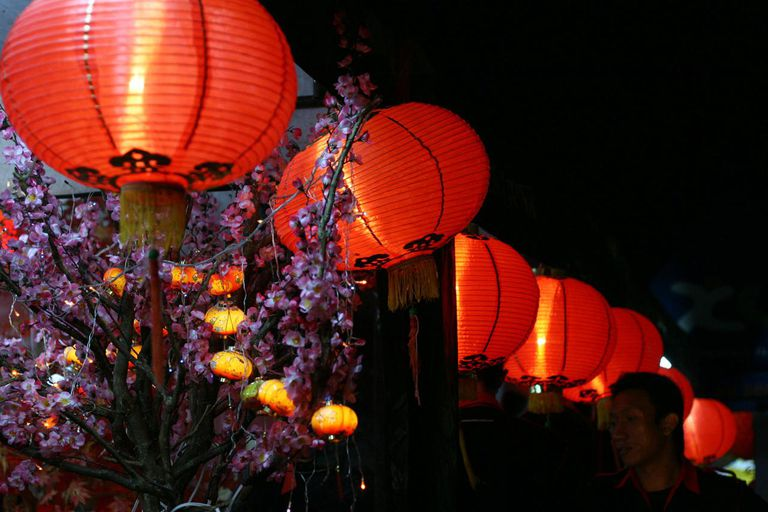 Semarang Prepares For And Celebrates Chinese New Year