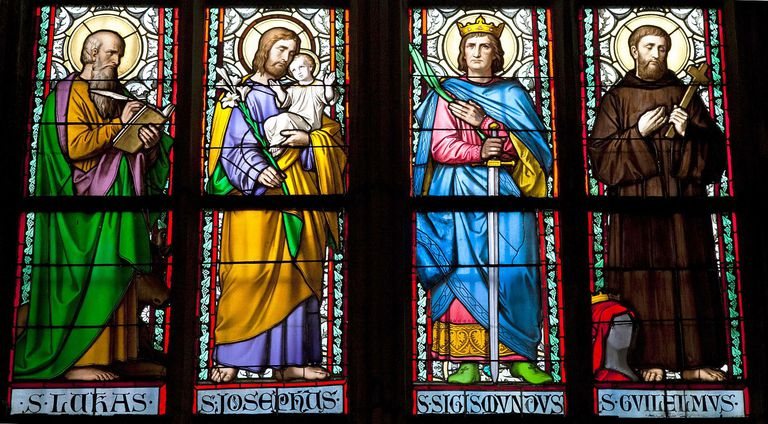 Saints in Stained Glass