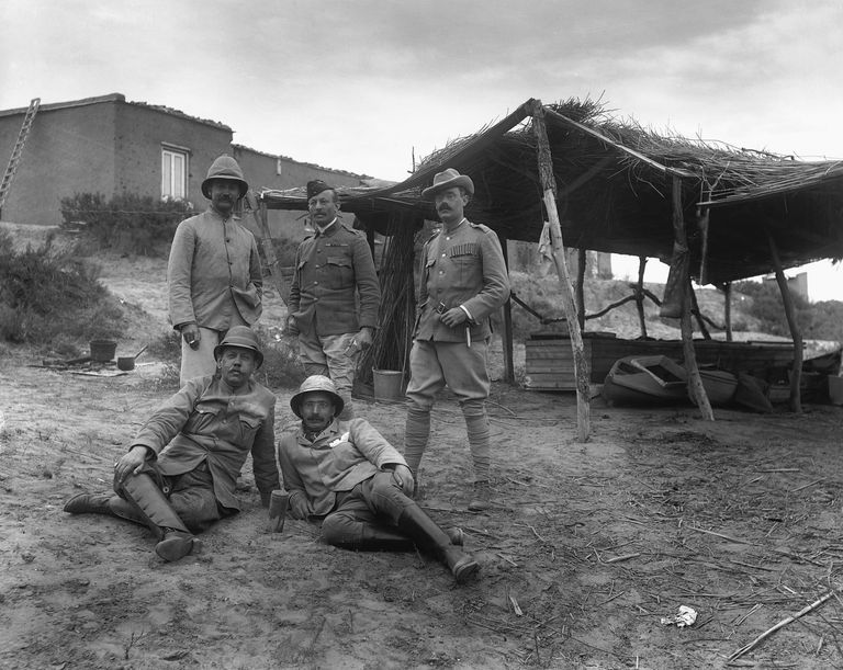 War Correspondants, Including Rudyard Kipling, On Glover Island