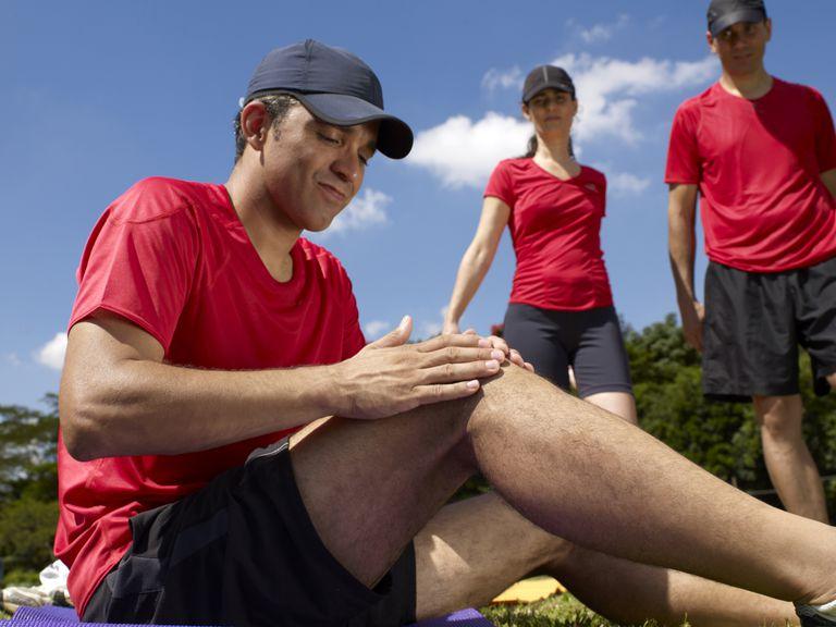knee pain - athlete