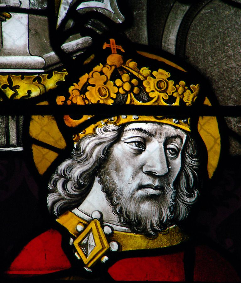 Charlemagne in Stained Glass