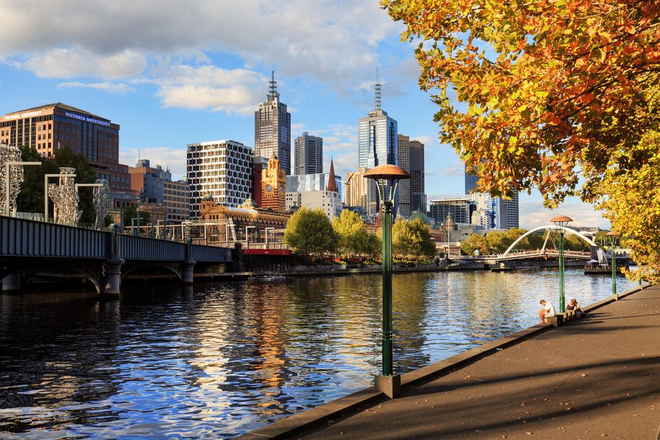 Melbourne sunny afternoon