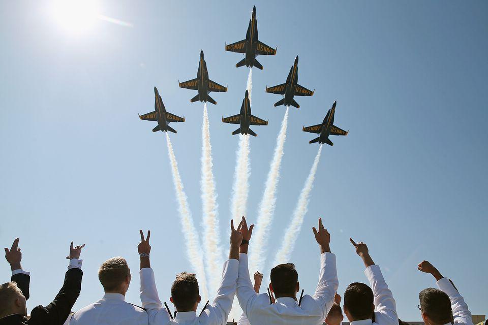 Blue Angels Navy Grads