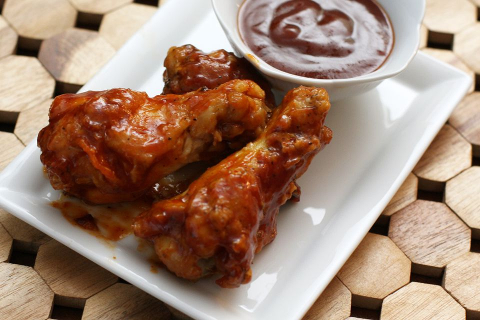 Spicy Barbecued Chicken Drumettes
